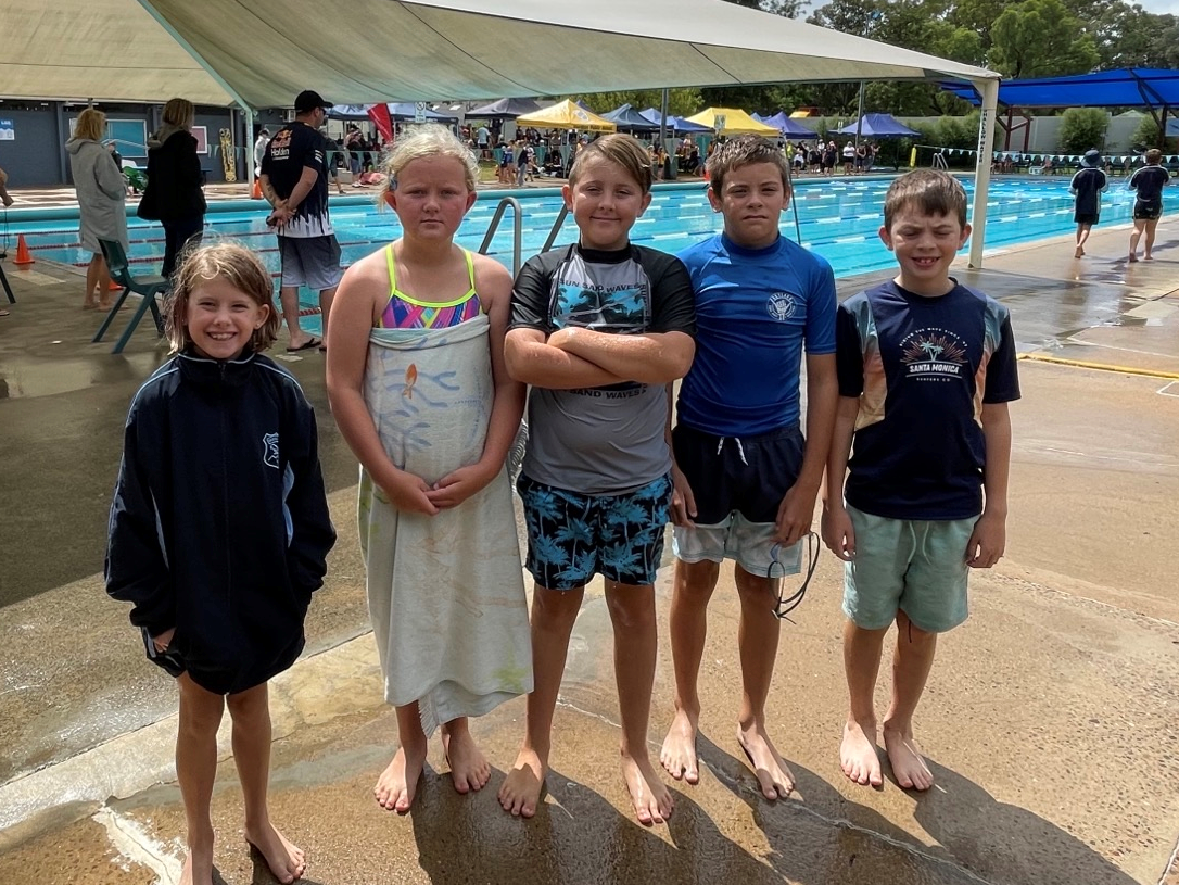 Zone Swimming Relay Team